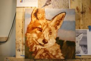 fox with moxie WIP