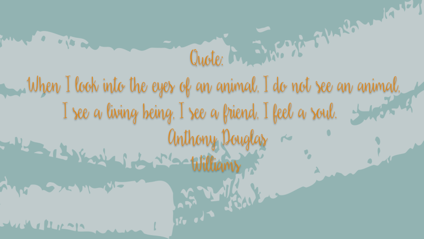 Anthony Douglas Williams quote.